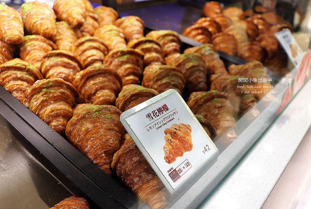 台北車站美食。八月堂。殿堂級可頌
