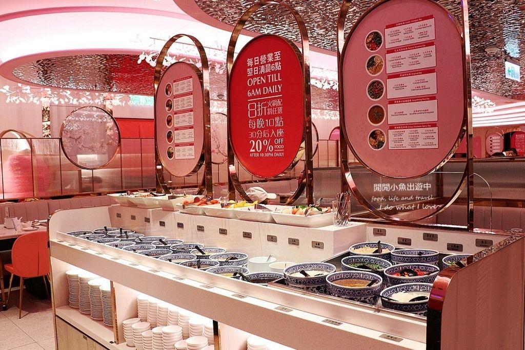 信義區美食餐廳 美滋鍋。新加坡粉紅夢幻火鍋店,膠原蛋白養顏美容鍋、滋補養生香辣鍋