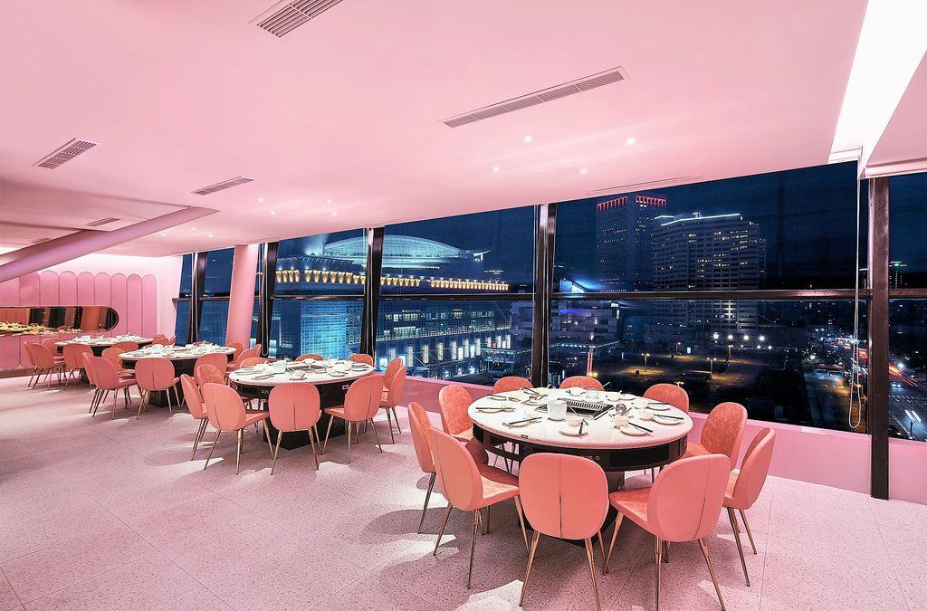 信義區美食餐廳美滋鍋。新加坡粉紅夢幻火鍋店,膠原蛋白養顏美容鍋、滋補養生香辣鍋