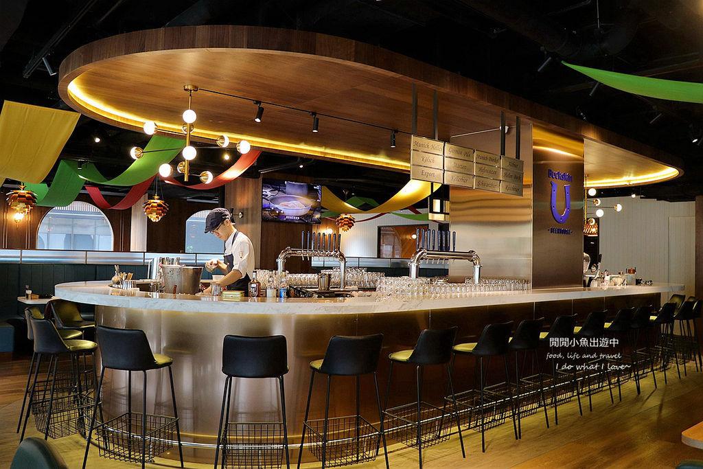 中山區餐廳柏克金啤酒餐廳-南京店。高CP值平價早餐、下午茶、啤酒、美食,捷運松江南京站
