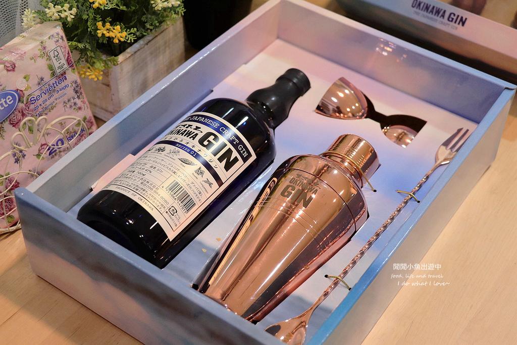 沖繩琴酒 OKINAWA GIN。來自南國的日本琴酒,居家調酒必備,附調酒器三件組