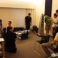 金門音響喇叭調音訓練-坐下來開始試聽調音後的音響喇叭