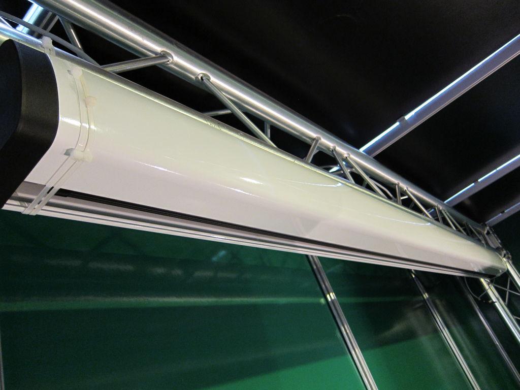 金門音響智慧環控系統展示區-UNICO電動螢幕