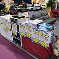 金門音響貨櫃屋外展示拍賣區