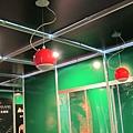 KM智慧環控餐廳展示區-上方elipson懸吊式音響喇叭