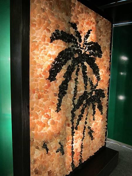 KM智慧生活主題館贊助廠商-可安椰子樹鹽燈