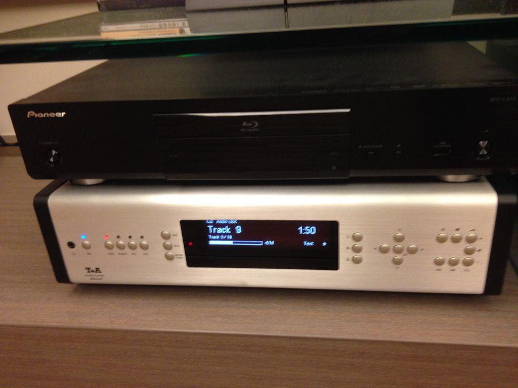 音響推薦│喇叭推薦,pioneer藍光DVD&T+A MUSIC PLAYER
