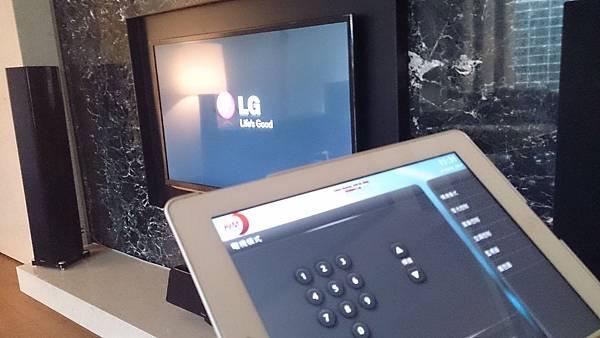 家庭劇院控制專家-KM環控系統,KM環控-家庭劇院。電視控制模式,LG電視。