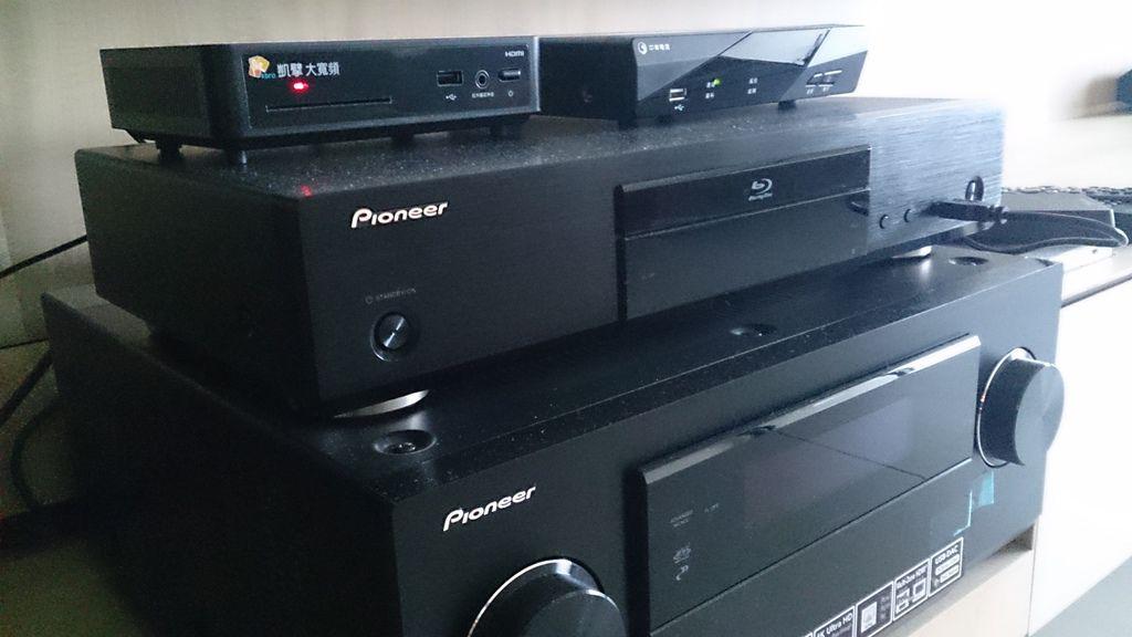 Pioneer擴大機(SC-LX87)&藍光播放機(BDP-450)