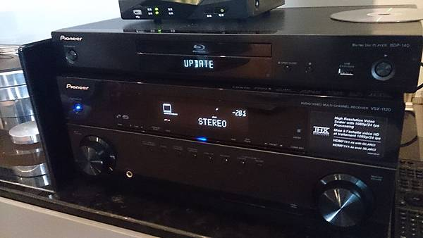 Pioneer擴大機和藍光DVD-金門音響