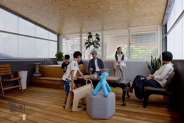 台北天母-寬引設計公司團隊,三樓機能展示空間