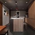 台北天母-寬引設計工程有限公司-開放式廚房設計