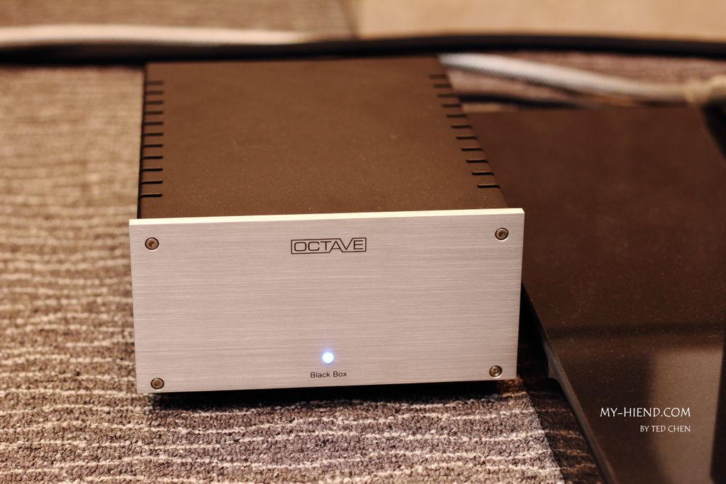 德國Octave BLACK BOX電源濾波器-金門音響展示