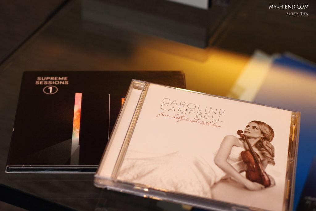 Marten Supreme Sessions、Caroline Campbell 的小提琴專輯試聽Triangle音響喇叭