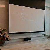 Canton中置喇叭和Unico電動銀幕%2F布幕,5金門音響規劃設計