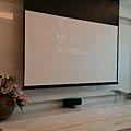 Canton中置喇叭和Unico電動銀幕/布幕,5金門音響規劃設計