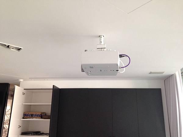 SONY投影機安裝施工-金門音響工程施工