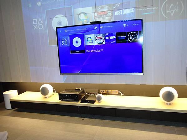 鴻海電視+Elipson+Pioneer先鋒擴大機-金門音響/誠藝設計