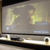 135吋超大UNICO電動投影布幕-金門音響%2F誠藝設計
