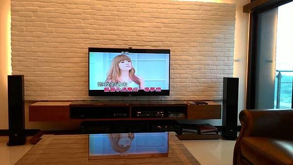 ELAC喇叭│家庭KTV設備-南港王小姐家庭劇院與卡拉OK雙系統規劃/卡拉OK推薦