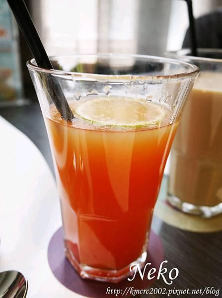 萊姆葡萄柚汁