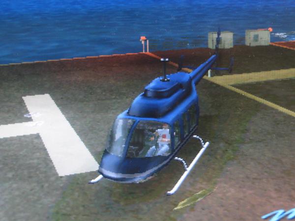 俠盜列車手-直升機
