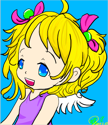 天使女孩1