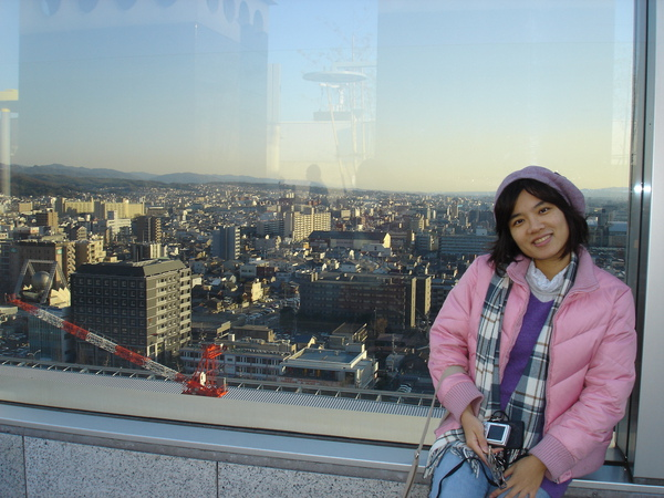 京都車站向下俯瞰