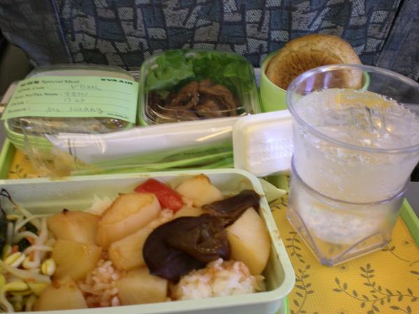長榮的飛機餐
