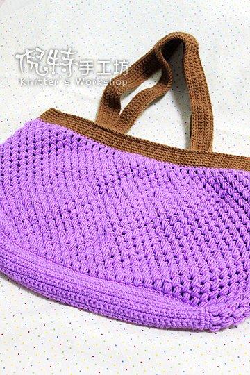 紫色葡萄包
