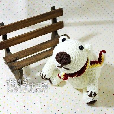 可愛北極熊