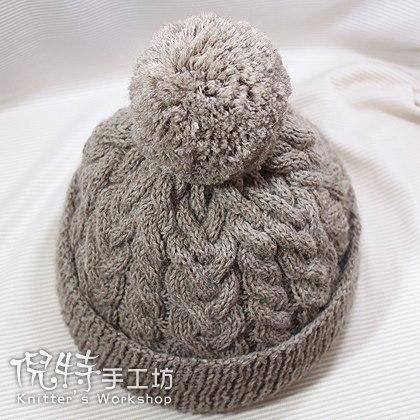 麻花球球帽2