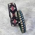 (風老師作品)皮繩手環1