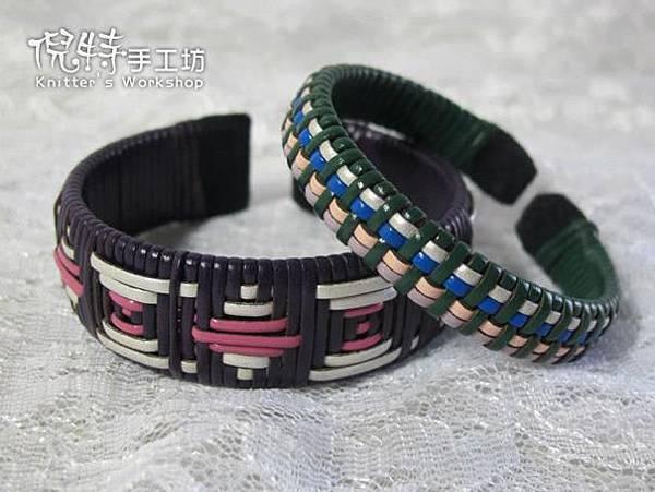 (風老師作品)皮繩手環2