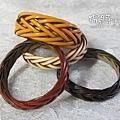 (風老師作品)皮繩手環5