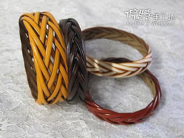 (風老師作品)皮繩手環8