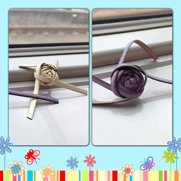 皮繩類-玫瑰3