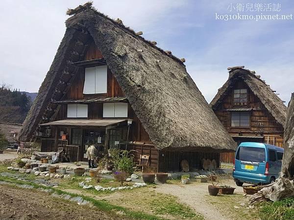 世界文化遺產-合掌村 (1)