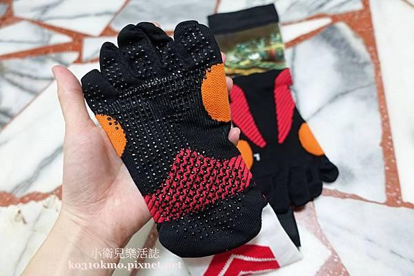 58客製襪-五趾止滑運動襪 JG-004D (4)