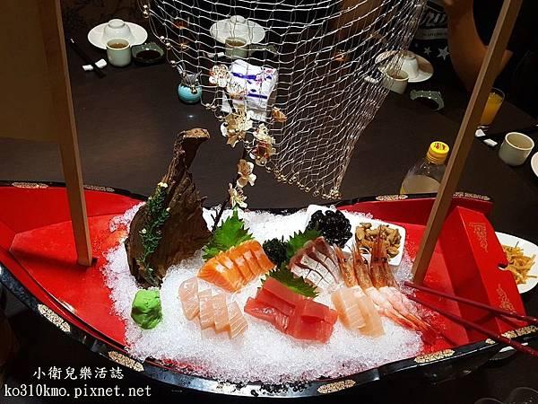 彰化聚餐-綠亭日本料理 (1)