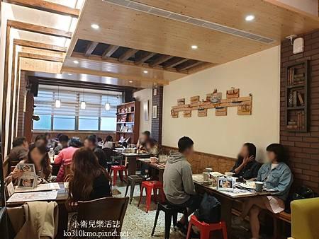 彰化早午餐-La Coma Cafe &Brunch 環境 (1)