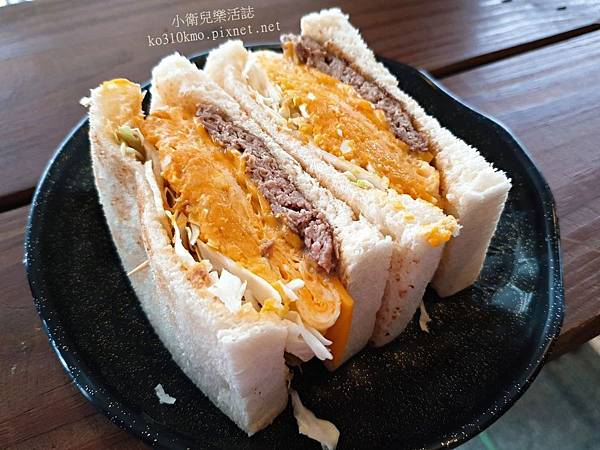 鹿港碳烤吐司 (2)