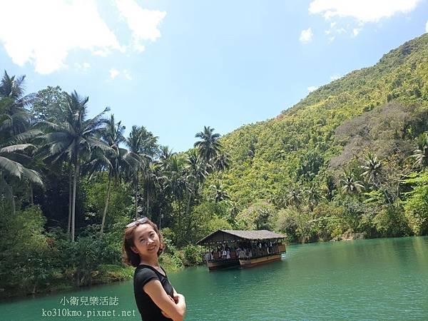 薄菏島BOHOL-竹筏漂流 (5)