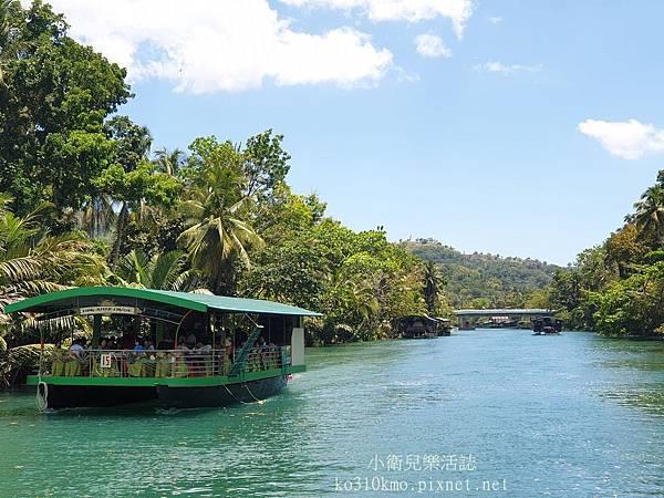 薄菏島BOHOL-竹筏漂流 (8)