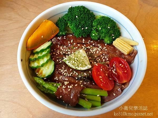 台中日式丼飯-秋刀鬥肥牛 (3)