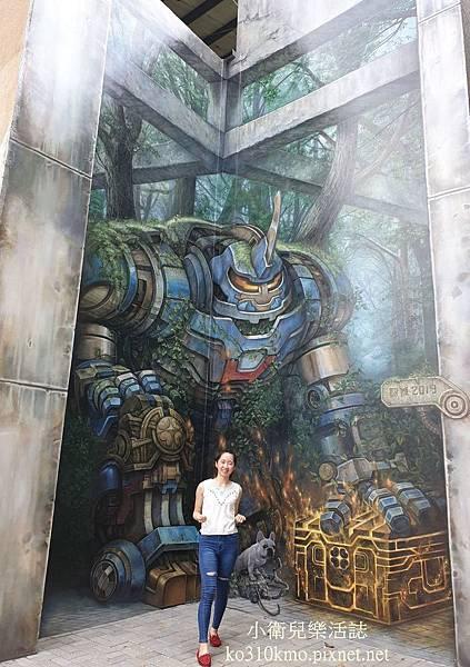 彰化鋼鐵人彩繪牆 (6)