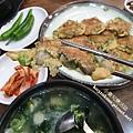 韓國高速巴士地下街必吃美食.牡蠣湯飯 (1)