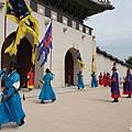 景福宮表演-光化門門將把守儀式