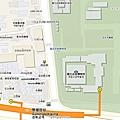 韓國首爾景福宮週邊美食景點地圖