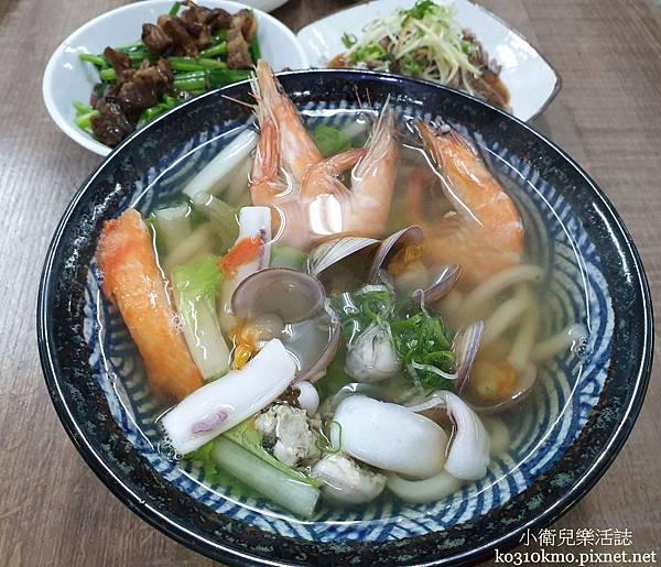 彰基美食.中興海鮮粥品